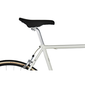 Creme Echo Solo flat -Bicicleta urbana hombre- blanco